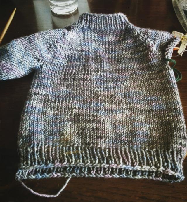 Mira's baby sweater