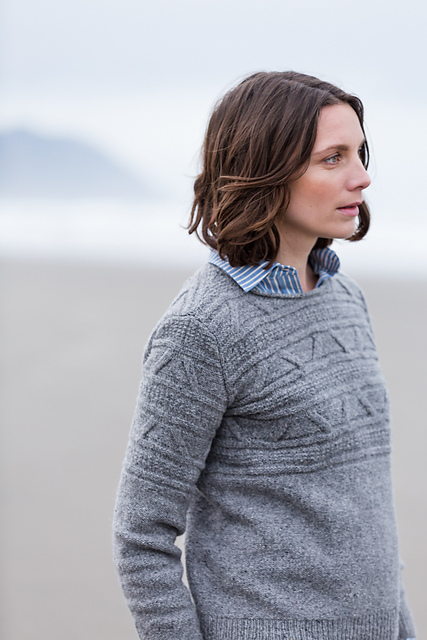 Breslin sweater by Brooklyn Tweed