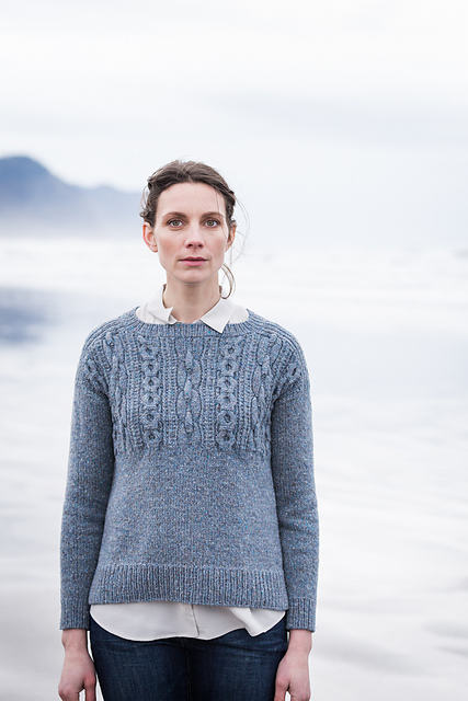 Caspian sweater by Brooklyn Tweed